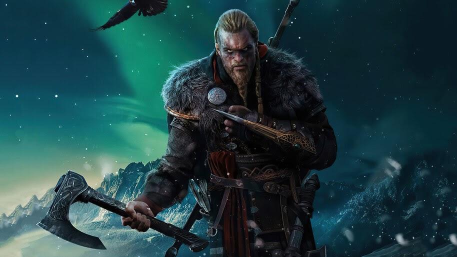 Eivor, Axe, Hidden Blade, Assassins Creed Valhalla, 4K, #7.2142