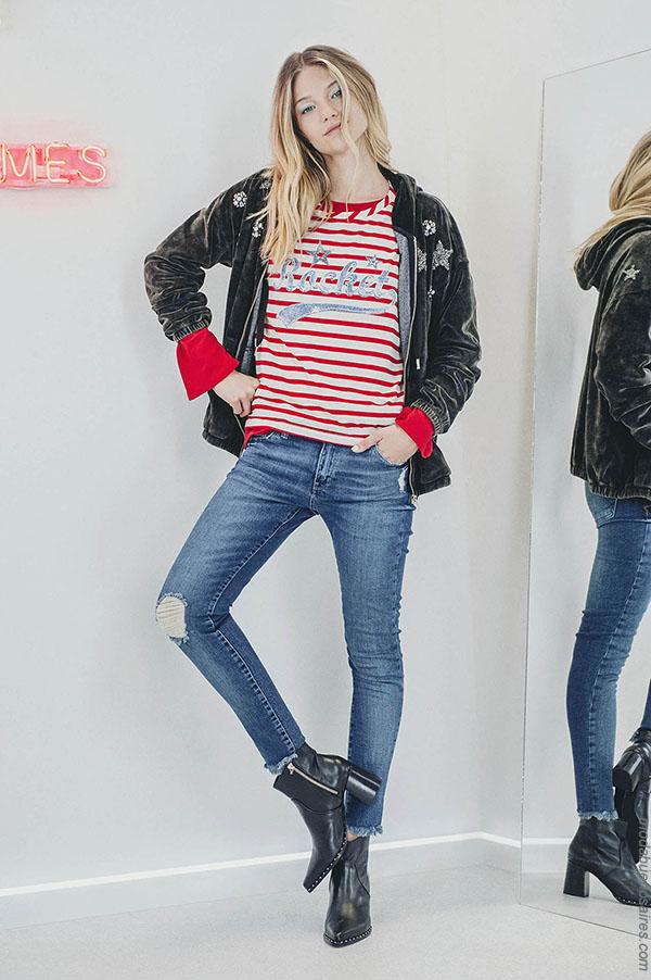 Pantalones de jeans moda otoño invierno 2018 Kosiuko.