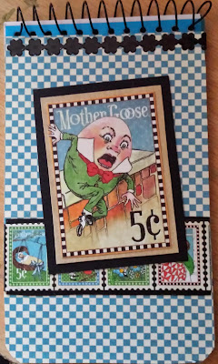 A7 spiral bound notebook = Humpty Dumpty from Graphic 45