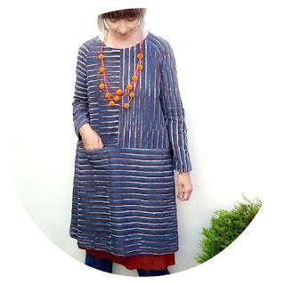 Merchant & Mills Fisherman's Dress by Ivy Arch