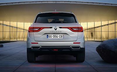 New 2017 Renault Koleos Facelift rear led tail light Hd Photos