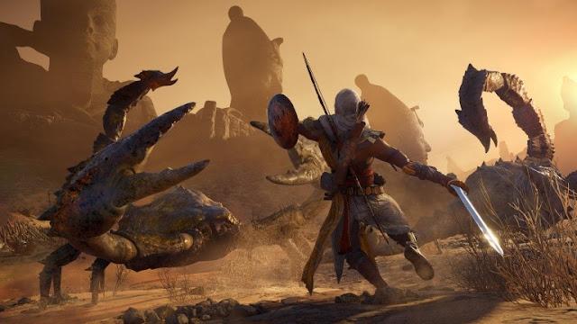 لعبة Assassin's Creed Origins تحصل على تحديث 1.04 و هذه مميزاته