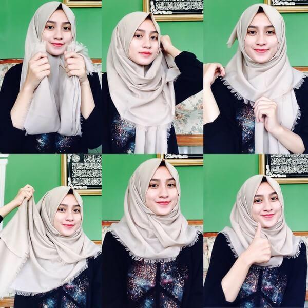 Tutorial Hijab Untuk Sekolah