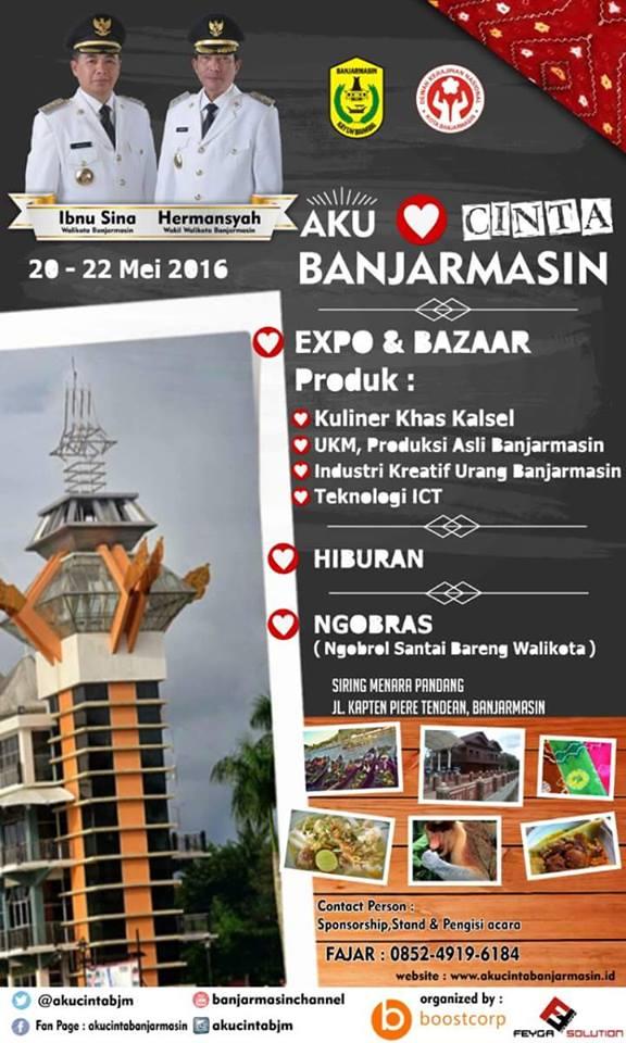 Expo dan Bazaar di Banjarmasin Siring pantai jodoh Piere Tendean 2016