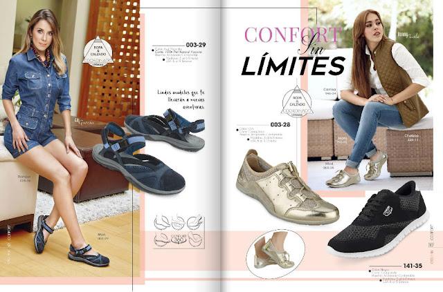 catalogo de calzado confort
