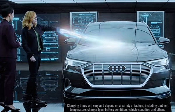 Capitana Marvel Audi e-tron Avengers Endgame