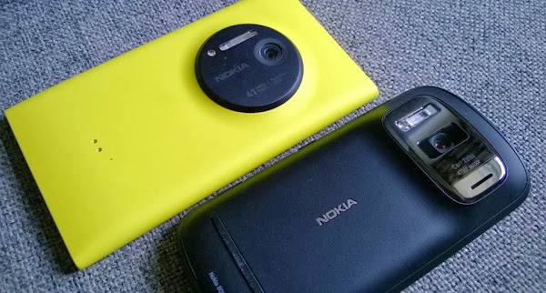 Nokia Lumia 1020 (with Lumia Black) vs. Nokia 808 PureView