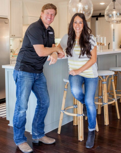 Chip and Joanna Gaines from HGTV's Fixer