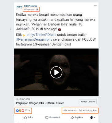 Contoh iklan fb ads