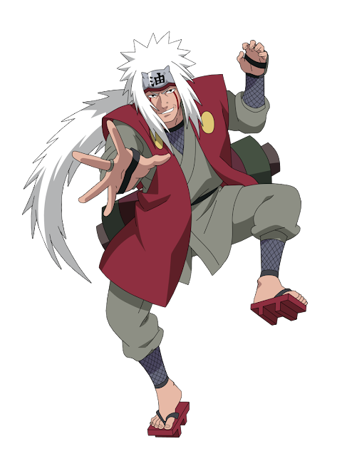 Jiraiya - anime Naruto