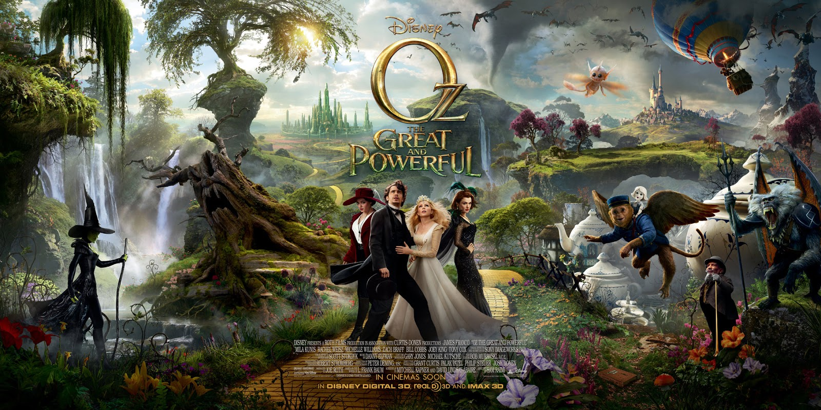 "Movie Review Sampler Trio: ""Oz,"" ""Frankenweenie,"" and ""Secret of the"