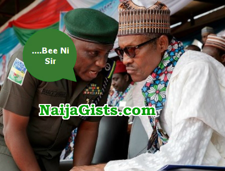 buhari aides beeni sir syndrome