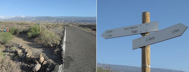 Mar a Cumbre - PR-TF-86 - Carretera TF-627 - Tenerife - Islas Canarias