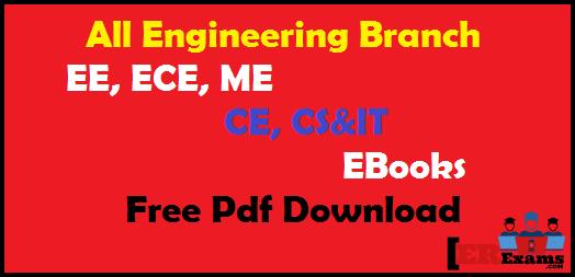 all engineering branch ebooks