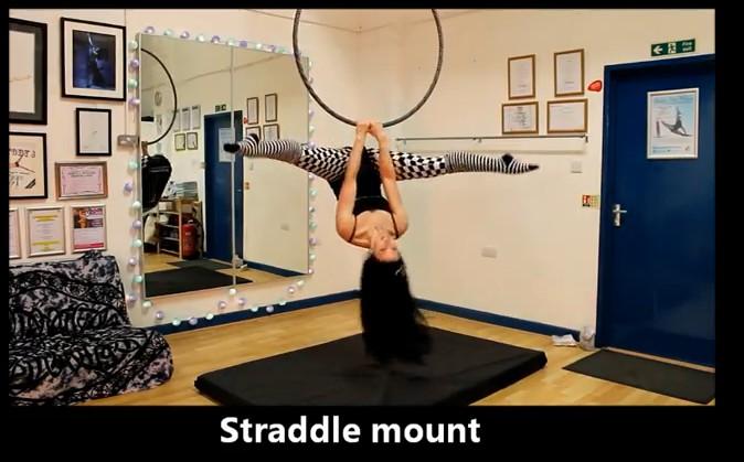 Resultado de imagen de exercise straddle mount