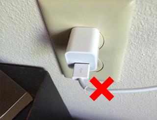 cara menggulung kabel charger