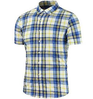 camisa de manga corta para hombre muy barata