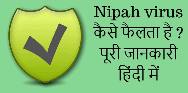 Nipah virus kaise failta hai ? पूरी जानकारी हिंदी में