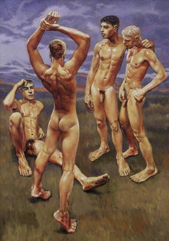 David wright nude