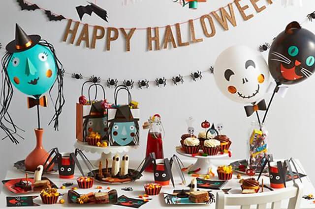 Una Pizca de Hogar Cmo decorar en Halloween con globos