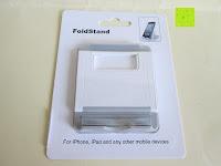 Verpackung: Marrywindix Mehrere Karten-slots Multi-Winkel Handy Smartphone Tablet E-Reader Allgemeine Halterung Ständer Handyhalterung (Grau-Weiß)