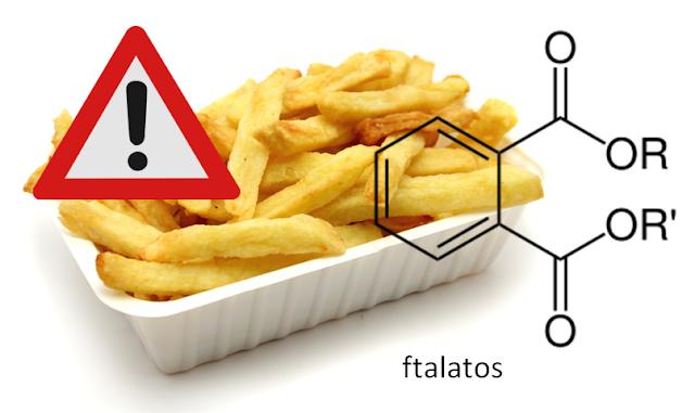 plástico alimentos