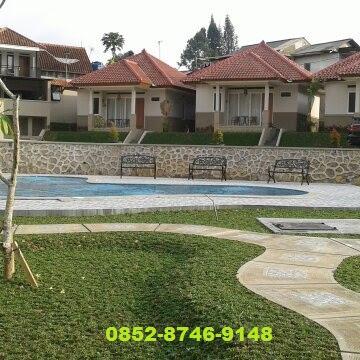 sewa villa di puncak yg ada kolam renangnya