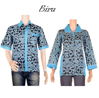 model baju batik couple pesta modern