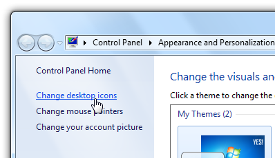 How to Hide or Remove on Recycle Bin Icon in Windows 7