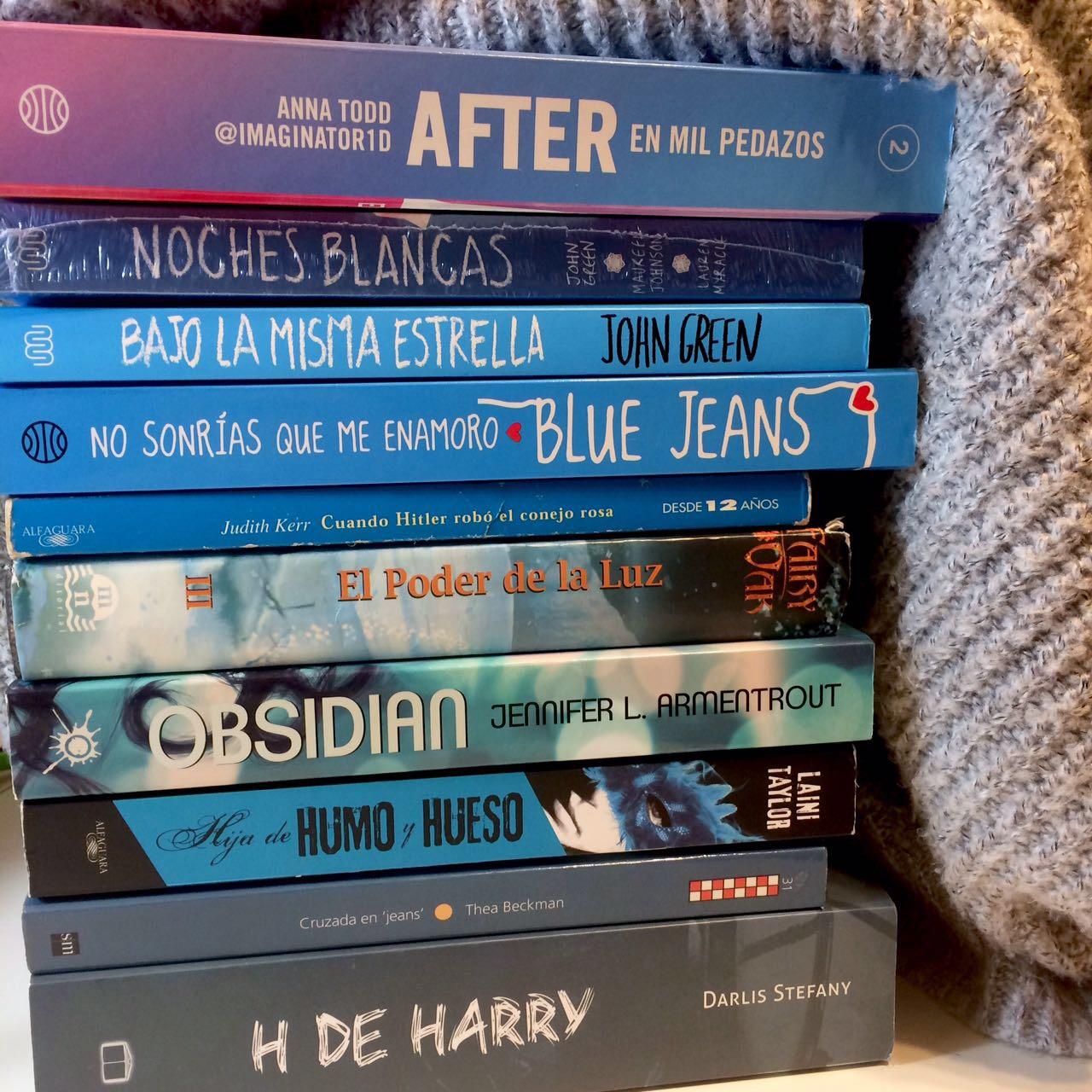 ♥La chica de los libros ♥: Book tag: Los colores