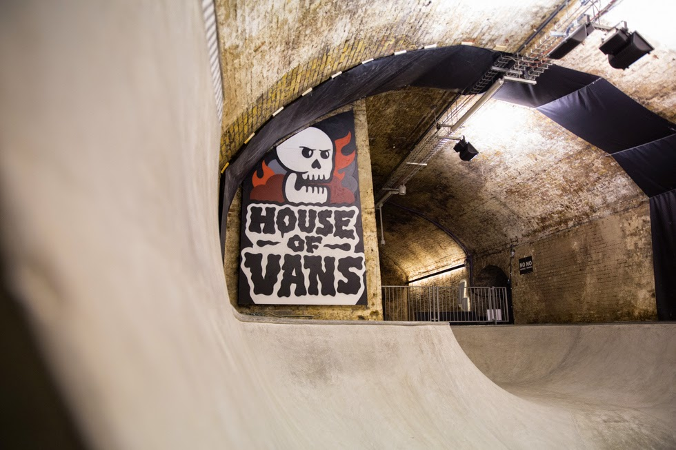 House of the Vans London, agosto 2014