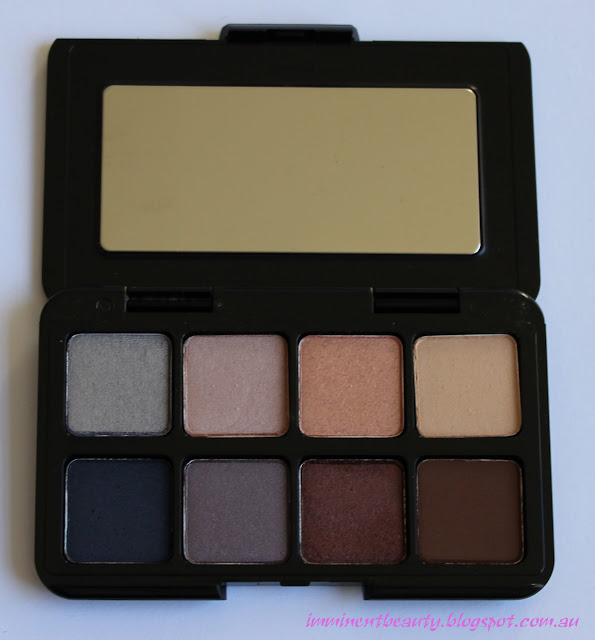 Inside the Smashbox Double Exposure Mini Eyeshadow Palette