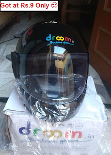 Buy Droom New Helmet at Just Rs.19