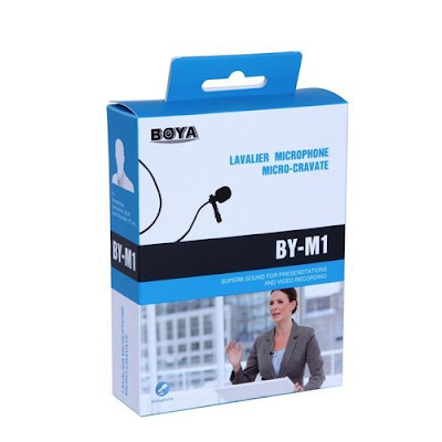 Clip Microphone- BOYA BY-M1 For PC, DSLR And Smartphone- Best For YouTube