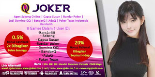 Bonus Jackpot Situs Poker Online QJoker - www.Sakong2018.com