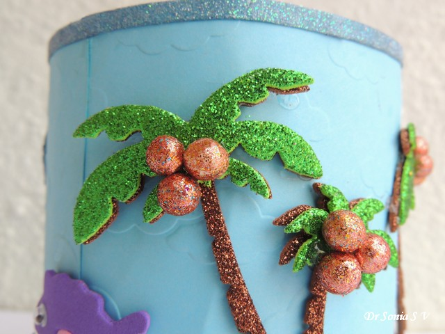 Foam Craft Palm Trees