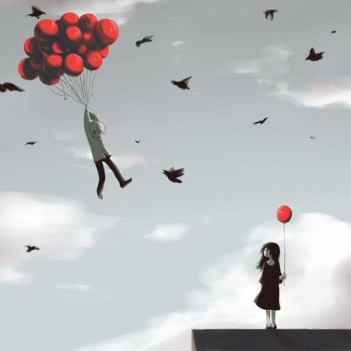 Terkadang kamu harus melepaskan semua yang kamu miliki hanya dengan seseorang