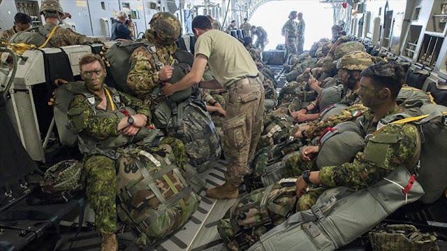 Informe: EEUU tiene presencia militar en 75% de países del mundo