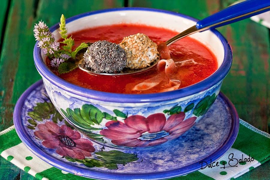 Gazpacho de Sandía y Tomate