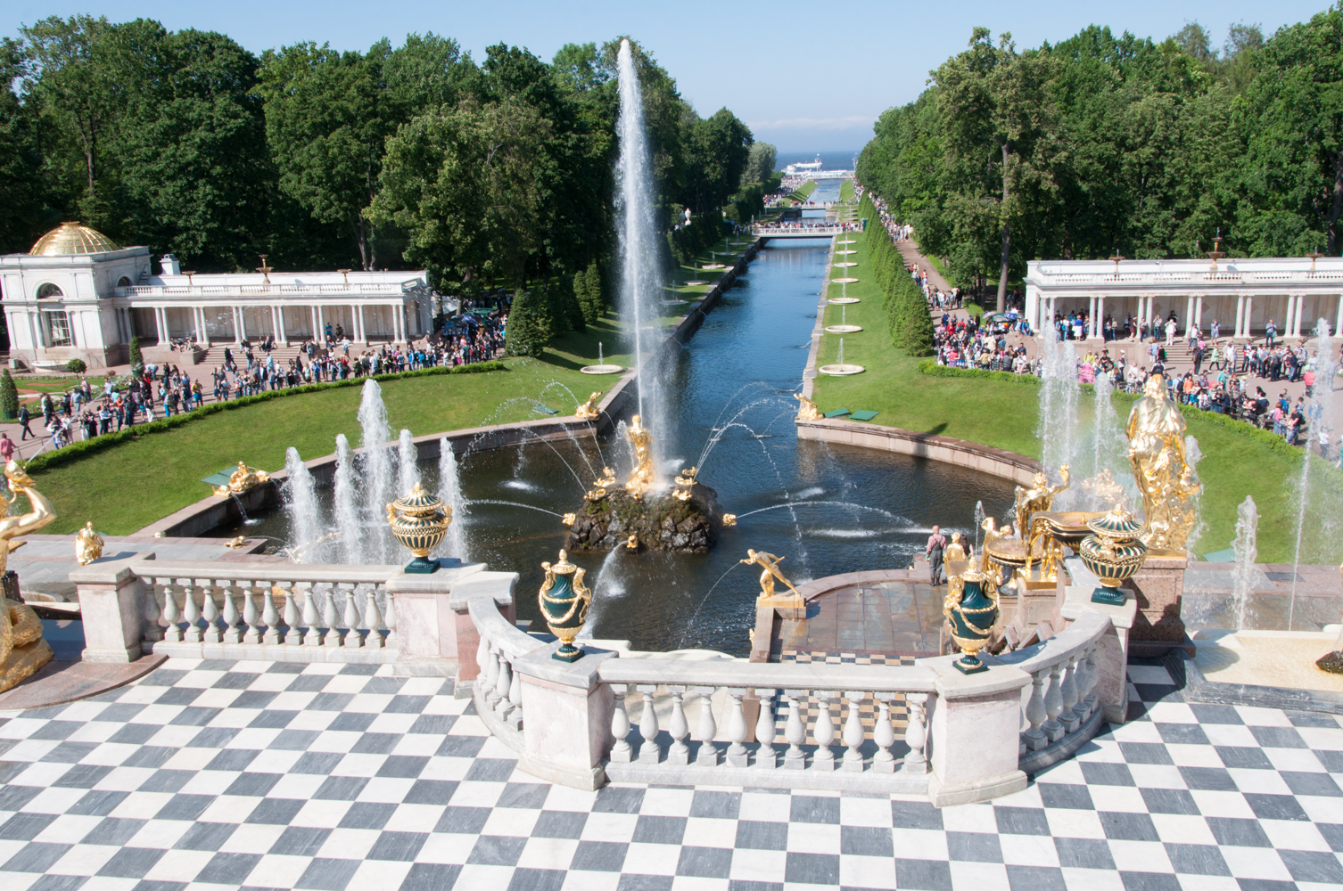 Saint Petersburg- Peterhof Palace