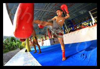 Learning Thai Boxing in Phuket
