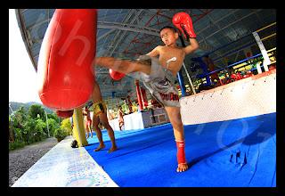 Learning Thai Boxing in Phuket