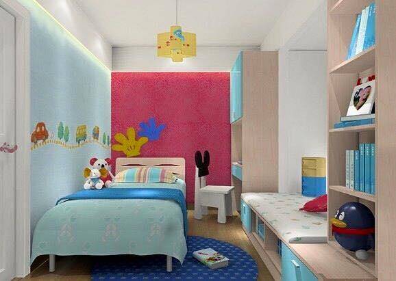 54 Desain Kamar Tidur Minimalis Anak Laki-Laki Yang Ceria ...