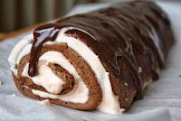 Orange-Chocolate Cake Roll