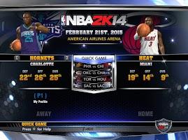 NBA 2k14 Custom Roster Update v4 : February 21st, 2015 - Heat and Hornets - Team Ratings