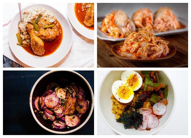Ớt Hàn Quốc ngoài vị cay thì còn có vị ngọt nhẹ, thường hay được dùng để muối các loại kim chi và là nguyên liệu cho một số loại sốt. Đôi khi, những người thích ăn cay còn thích cho bột ớt này vào nhiều món ăn khác như mì ăn liền, miến, bánh gạo...