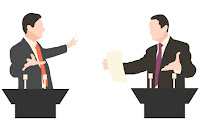 Debat aktif adalah suatu bentuk retorika atau argumen baik lisan maupun tulisan antara du Tujuan, Unsur dan Langkah-langkah Debat Aktif