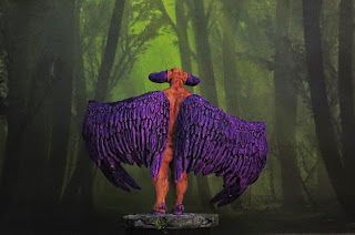 Demon, Samael, KaYo, Miniature, Kickstarter, painted, Temptress, Slaanesh, nude