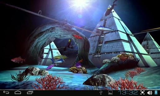 Atlantis 3D Pro Live Wallpaper 1.2 APK Android ~ Pro APK Download
