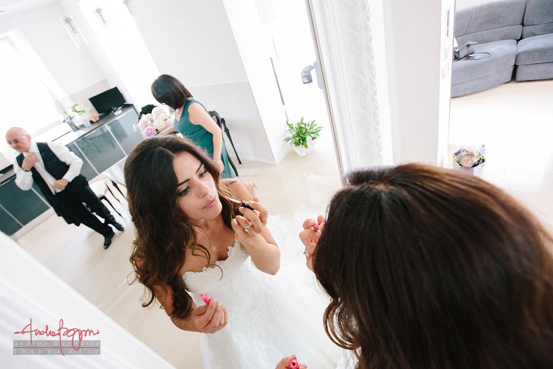 preparazione sposa reportage matrimonio Genova